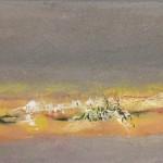 Solitude Face à la Mer 2Mixte sur bois12 x 24